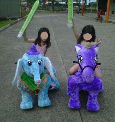 Animal Battery / Binatang Jalan Donkey Anak-anak