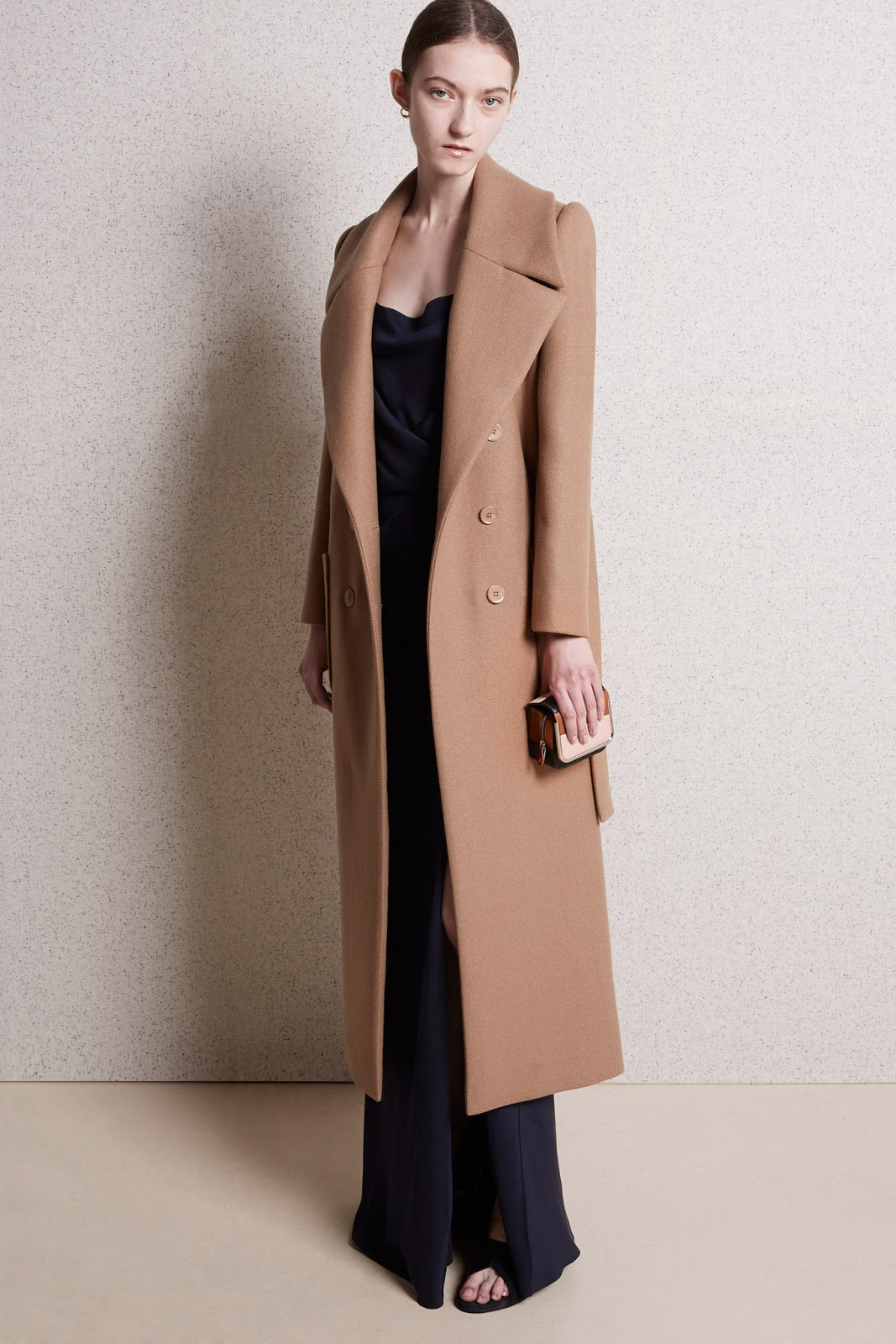 via fashioned by love | Carven Pre-Fall 2015 | camel trends | 2015