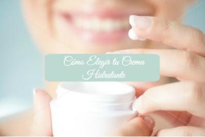 Crema hidratante apropiada para ti