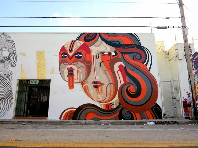 Street Art By Reka And 2501 In Wynwood, Miami For Art Basel 2013. 3