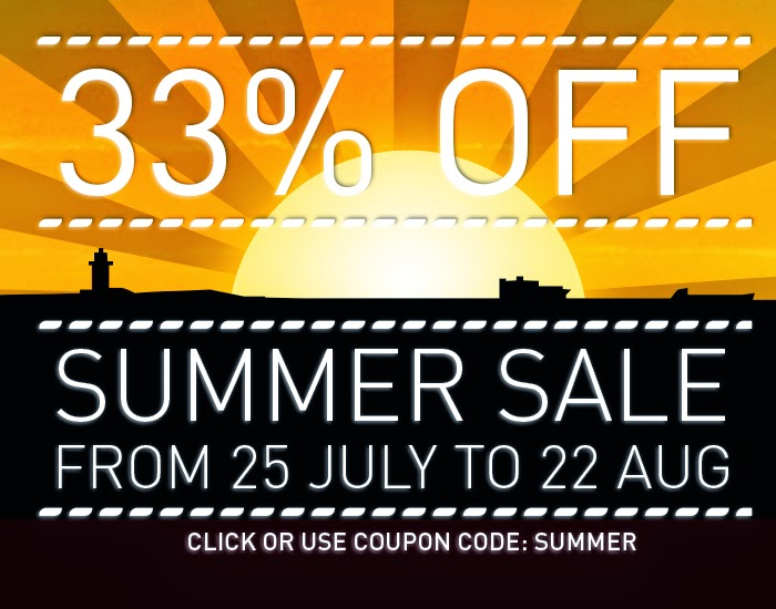33% off WinNc summer sale
