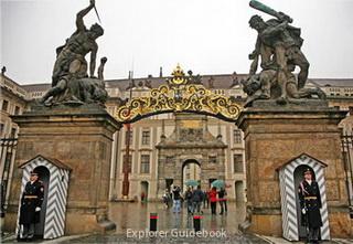 Prague Castle main gate