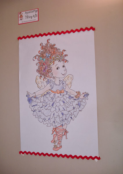 Fancy Nancy Coloring Pages Free Colorings