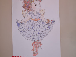 Fancy Nancy Coloring Pages Free