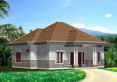 rumah 2 lantai sederhana on gambardesain3d: Rumah sederhana 1 lantai