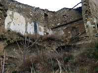Detall de l'interior de la Serra, per la banda de ponent
