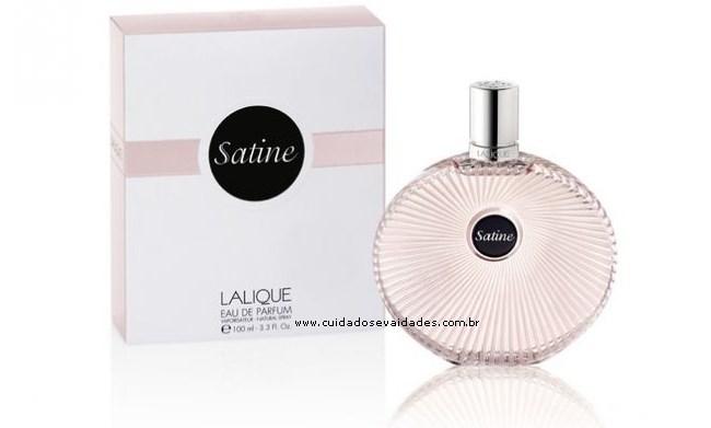 Satine Lalique - Nova fragrância de Lalique