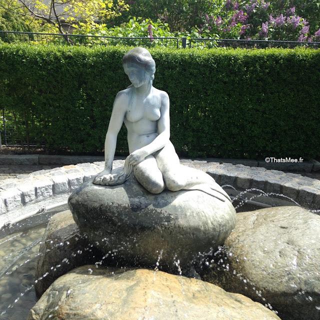 replique copie la petite sirene carlsberg city copehague danemark