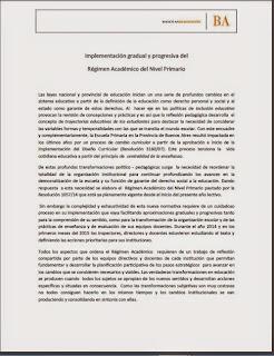 implementacion GRADUAL REGIMEN ACADEMICO