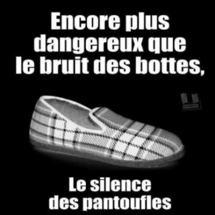 Le silence des pantoufles