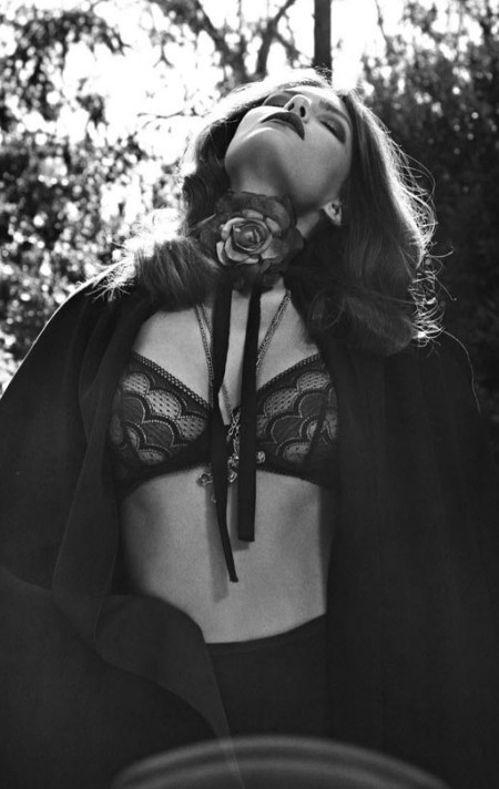 frou frou fashionista, lingerie editorial, lingerie as outerwear