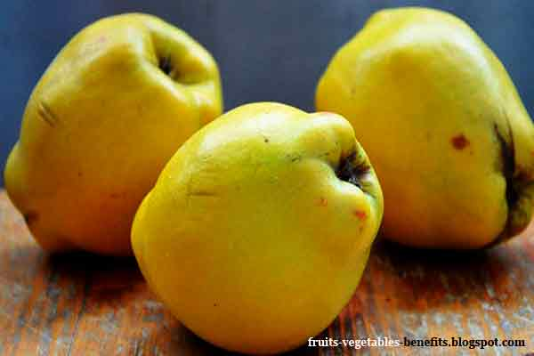 fruits that are healthy quince fruit