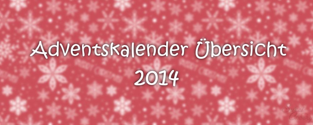Blogger Adventskalender 2014