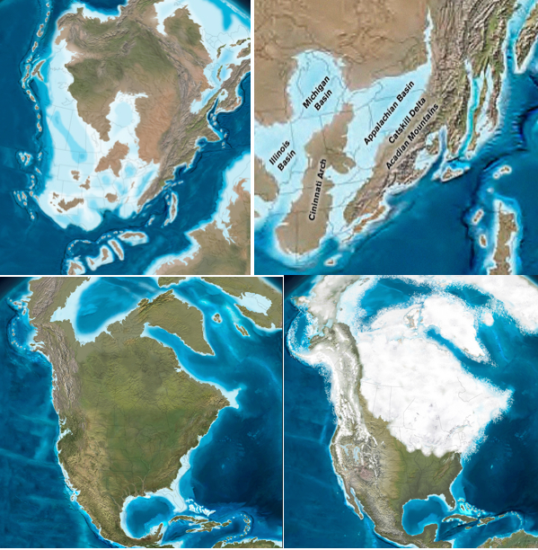 Nephicode looking for zarahemla part v paleontologists have developed maps of eastern north america covering the last 550 million years of geologic history with time slices of more than 100 maps sciox Image collections
