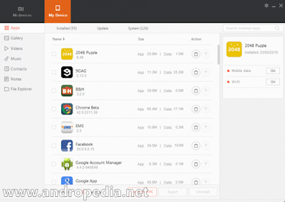 Mi PC Suite (MiPhone Manager) 2.2.0.4302_2717 (English)