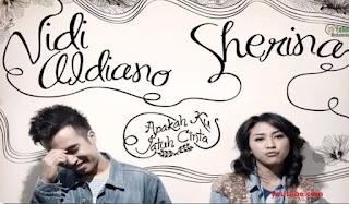 Lirik Lagu - Vidi Aldiano - Apakah Ku Jatuh Cinta (Feat Sherina)