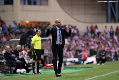 Pep Guardiola Last Game With Barcelona Hd Wallpaper