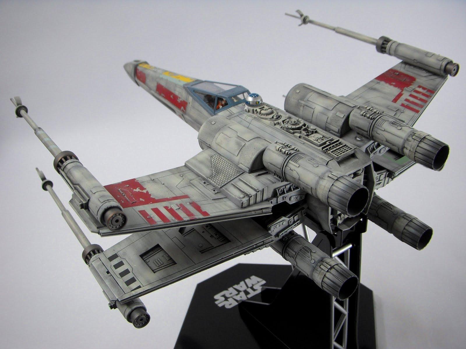 chrizchui 1 48 fine molds star wars x wing fighter. Black Bedroom Furniture Sets. Home Design Ideas