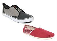 Get Minimum 60% Off on Roadster, HRX, Mast & Harbour Men's Footwears at starting price Rs 383 only Via Flipkart :buytoearn