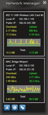 Network Manager - Windows 7 Balanceo de Carga