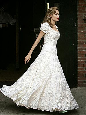 Vintage Wedding Dresses in the movies: Angelina Jolie's 'debutante' dress in The Good Shepherd