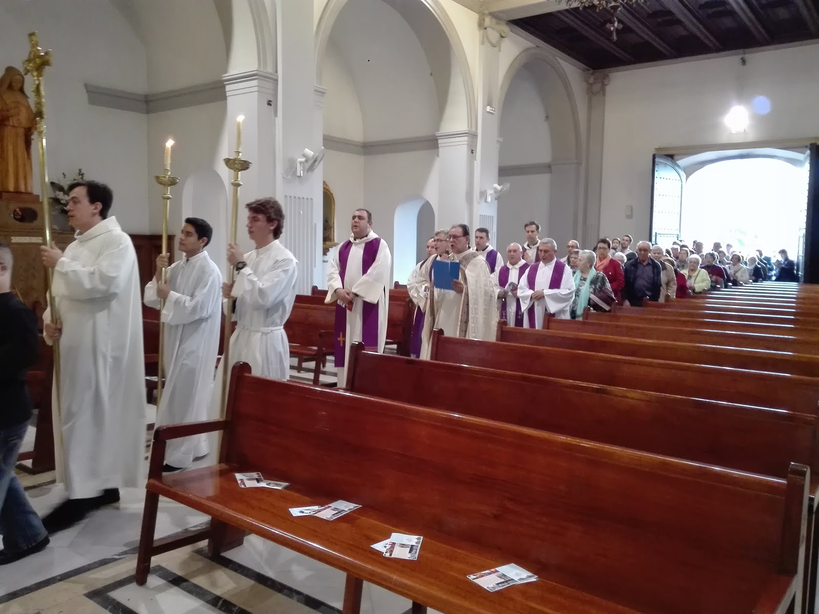 Peregrinació de St. Mateu (BCN). 6-11-2016