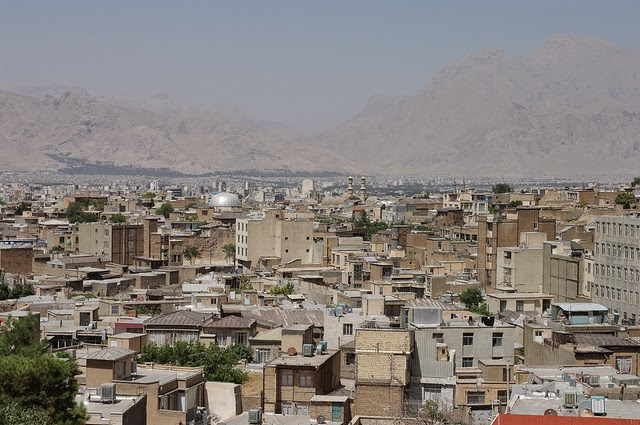Kermanshah, Iran - polluted city