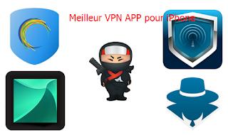 Meilleur VPN APP pour iPhone