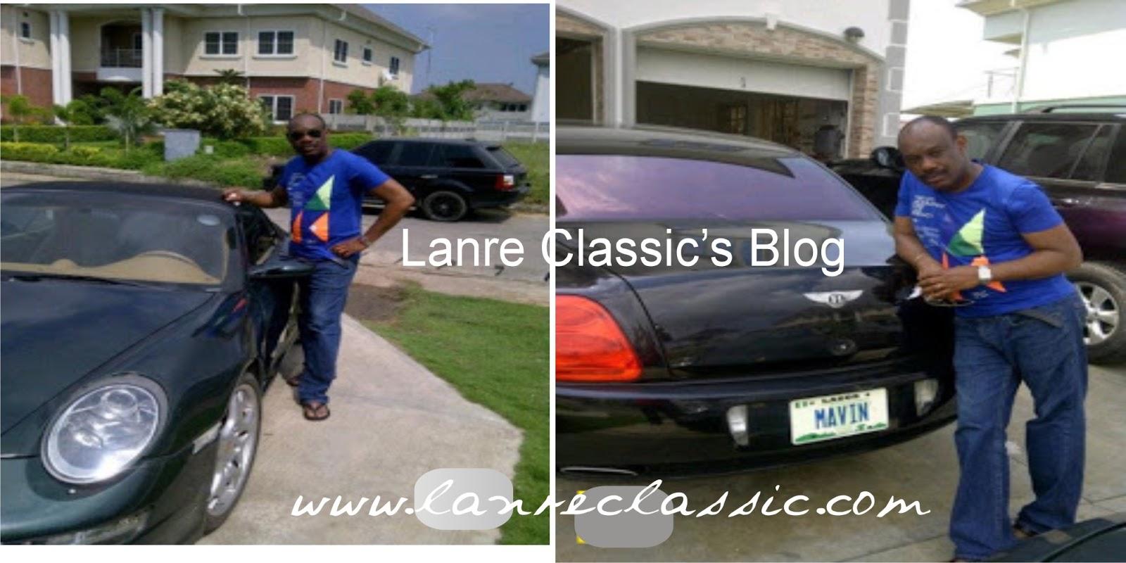 Donjazzy S Dad Flaunts His Bentley Celebrities Nigeria