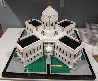 LEGO Wisconsin State Capitol