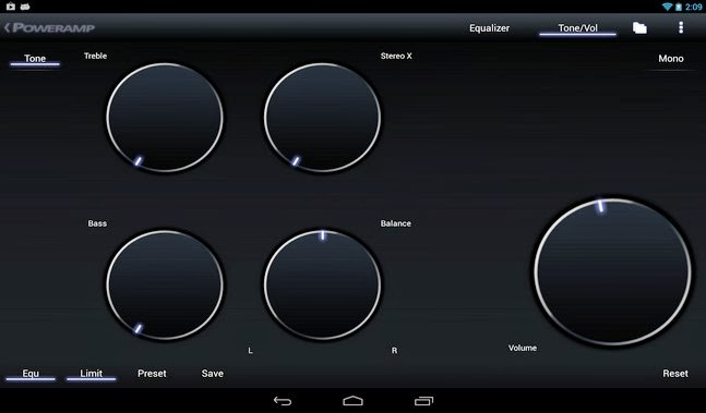 Poweramp Music Player android apk - Screenshoot