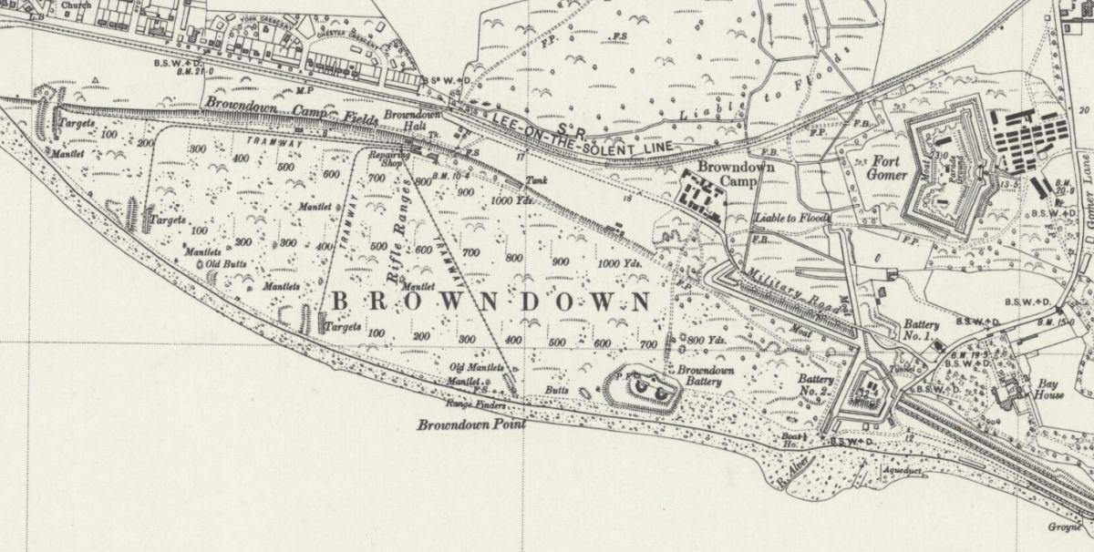 Browndown Narrow Gauge 1948
