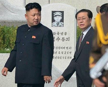 Jang Song-Thaek and Kim Jong Un