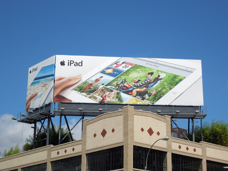 Apple iPad 3 billboards NYC