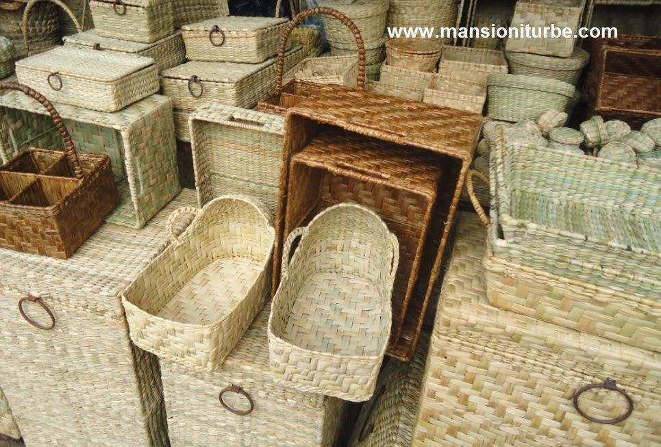 Artesanías hechas con fibras vegetales en Ihuatzio