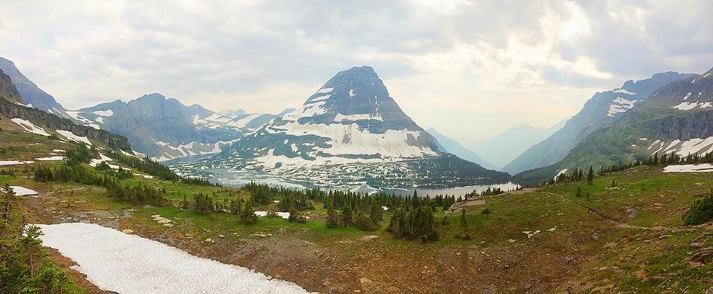 glacier national park hidden lake