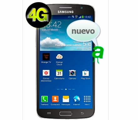 Samsung Galaxy Grand 2 con AMENA: precios y características