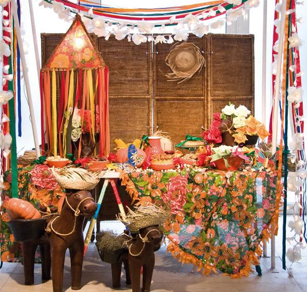 decoracao de interiores sao joao da madeira:Casamento Style: Decoração Casamento Festa Junina