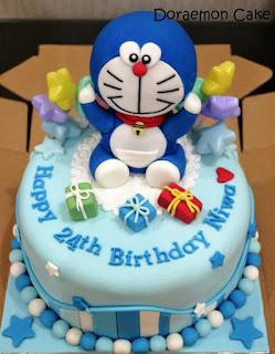 Kreasi Kue Ulang Tahun Doraemon