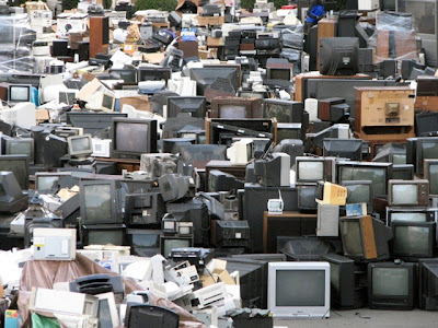 E-Waste not been recycled