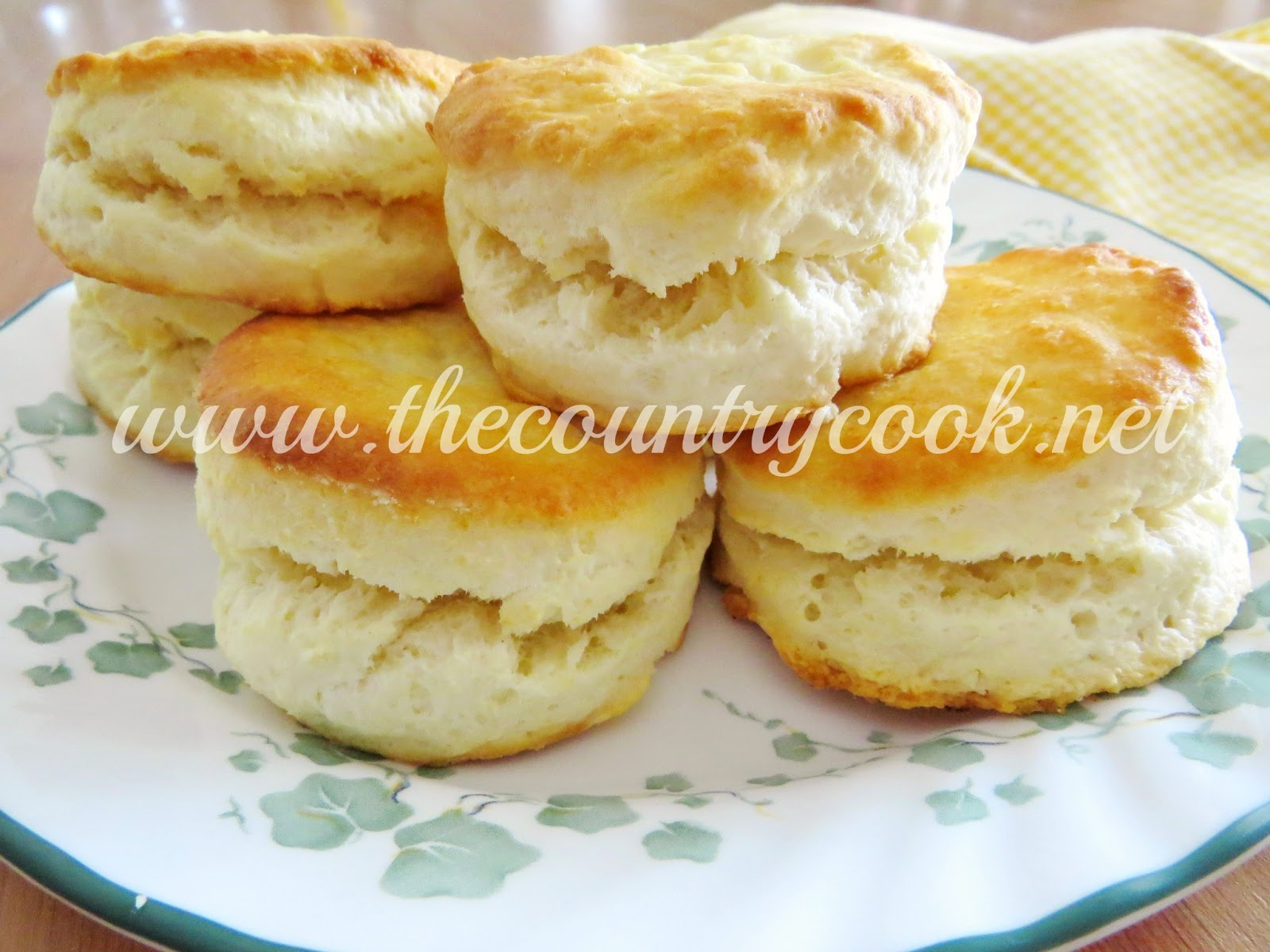 2-Ingredient Cream Biscuits - The Country Cook