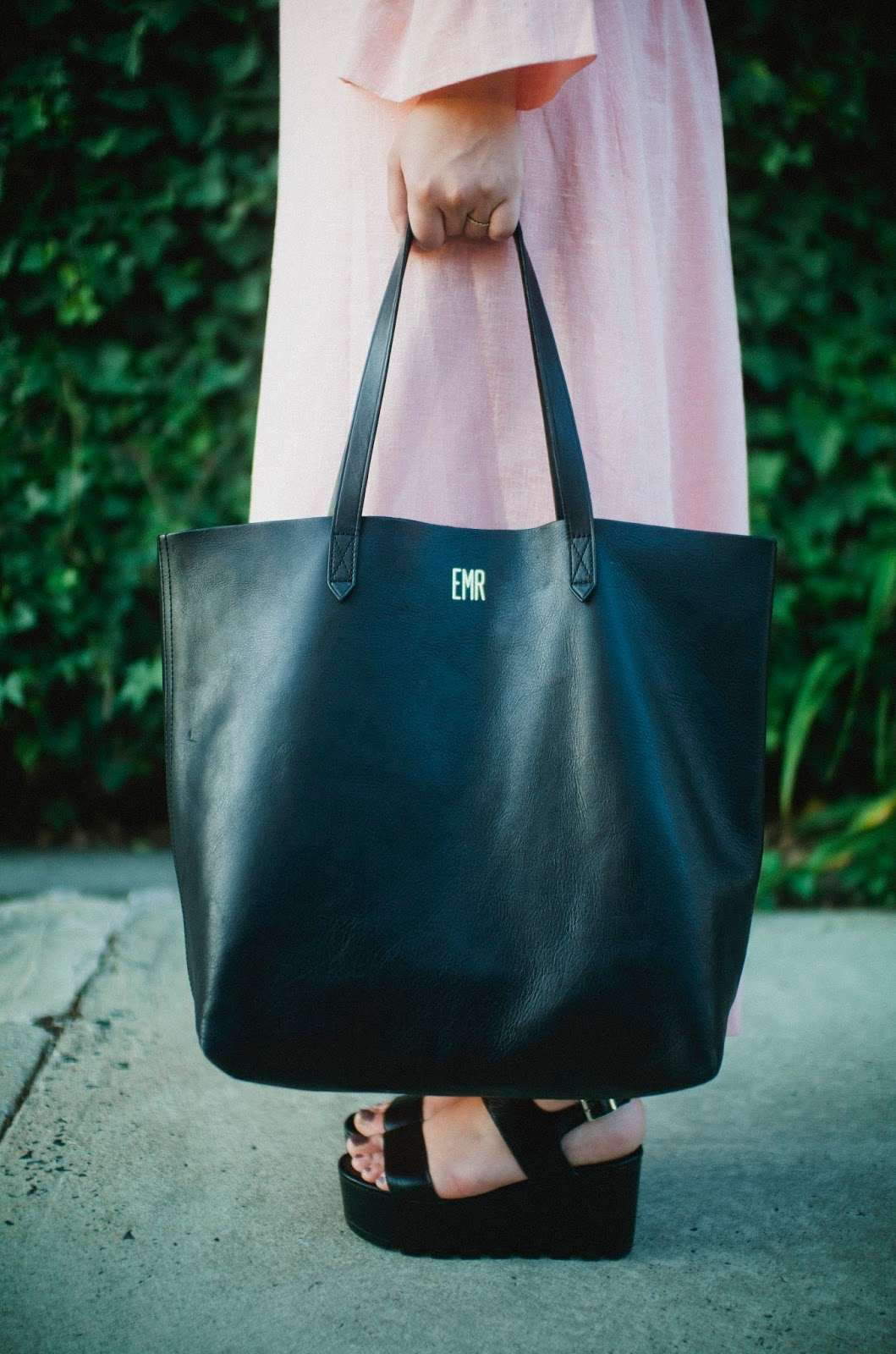 Madewell, Transport, tote, black, street, style