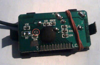 the circuit board closeup