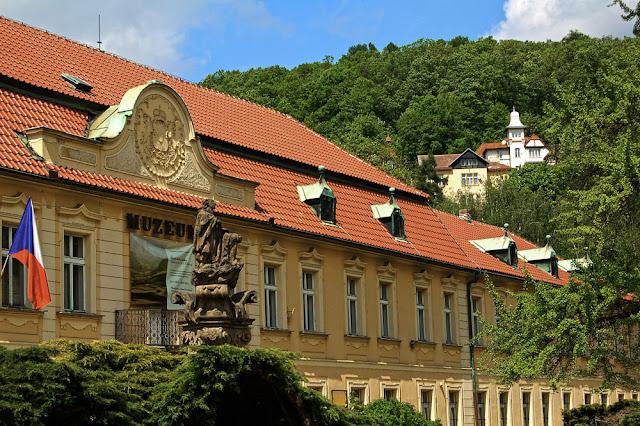 Города Чехии. Дечин. Областной музей в Дечине