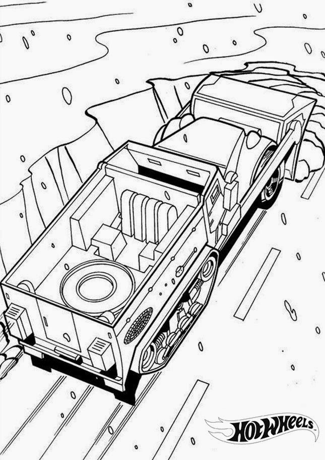 Hot Wheels Coloring Pages 9