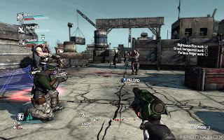 Borderlands Gameplay Screen