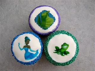 Cupcakes de La Princesa y el Sapo para Fiestas Infantiles, parte 2