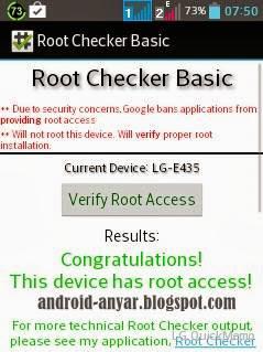 Cara Root LG L3 II E435 Dual Sukses Instal SuperUser