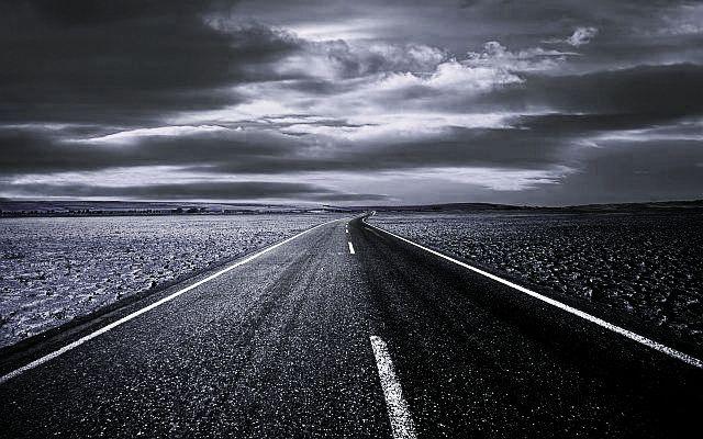 Siyah Beyaz Yol