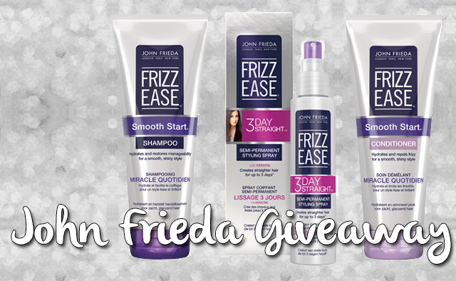 john frieda frizz ease giveaway